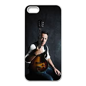 iPhone 5 5s Cell Phone Case White Bruce Springsteen 002 SYj_737898