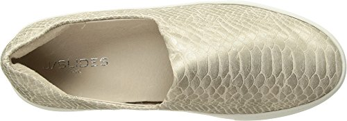 J Slides Sneaker Ariana Fashion Lux Platino Women's Embossed fHqSf