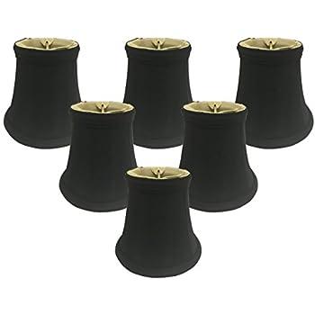 Royal Designs Decorative Trim Bell Stripe Chandelier Lamp