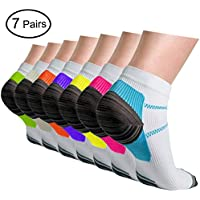 Sport Plantar Fasciitis Compression Socks Arch Support Ankle Socks-Foot Pain Relief