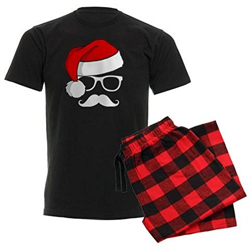 CafePress Christmas Mustache Comfortable Sleepwear