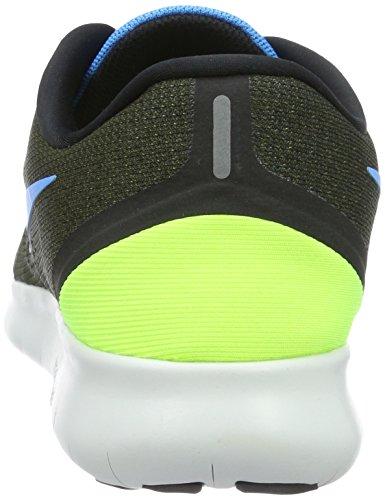 Nike Free Rn Uomo Scarpe Kaki / Blu 11,0 D