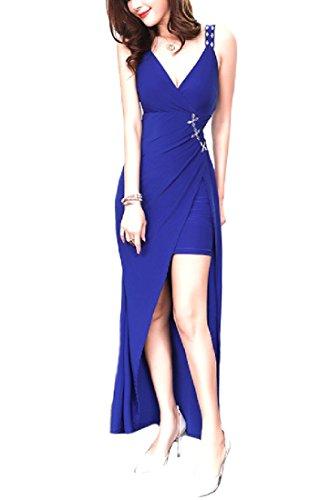Women Casual Maxi Dress Spring Slim Coolred 1 Evening Sexy Maxi Bodycon dq1tn4