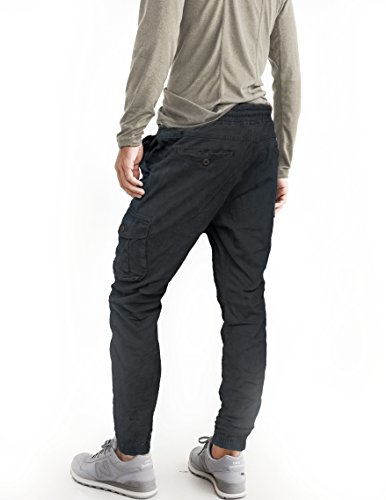Coolo Cargo 18 Laterali Uomo Lunghi Slim Tasconi Fit Con Verde Pantaloni 2017 Fun dOqId