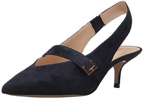 Damen West Wildleder Neun Farrel Pump Navy HO4SwxqS