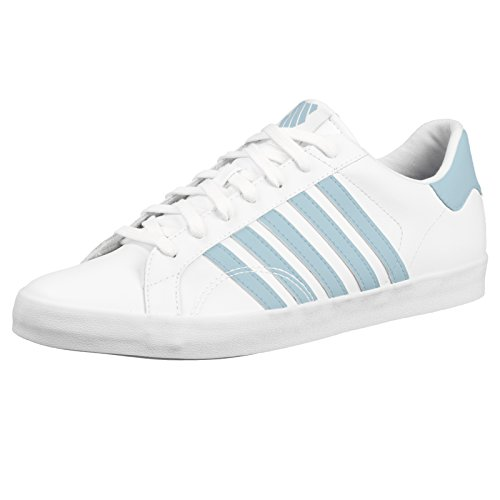 K-Swiss Womens Belmont So Trainers White/Dream Blue