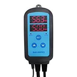 Inkbird Pre-wired Plug Digital Humidity Controller AC 110V - 240V w/ Sensor for Humidifier Dehumidifier