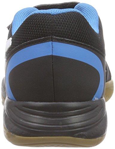 Puma Veloz Indoor II V Jr - Zapatillas deportivas para interior de material sintético Niños^Niñas negro - Schwarz (black-white-cloisonné 01)