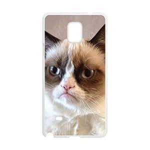 Cat Design Fashion Comstom Plastic case cover For Samsung Galaxy Note4