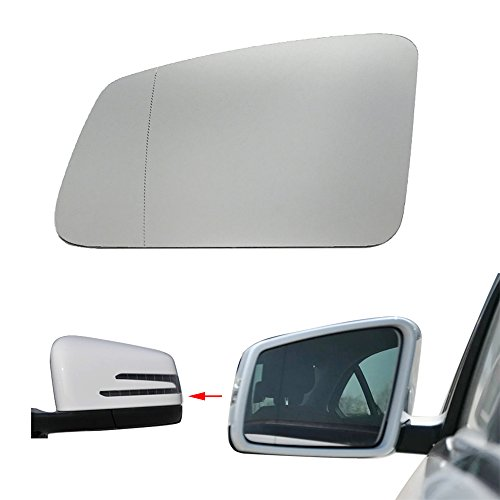 - Left Door Side Heated Wing Mirror Glass For Mercedes-Benz S/C/E-Class W212 W204