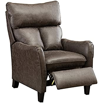 Amazon Com Bonzy Recliner Chair Microfiber English Roll