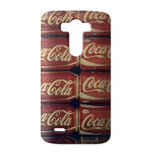 coca cola round logo 3D Phone Case for LG G3