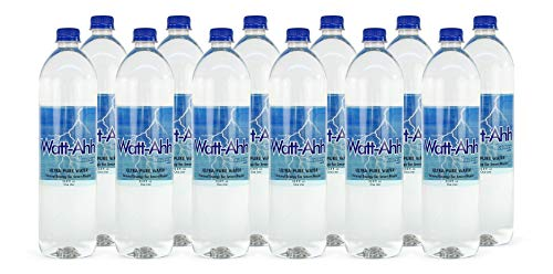 AquaNew's Watt-Ahh - Premium Polarized Water for Energy and Health - Case of 12-1 Liter Bottles