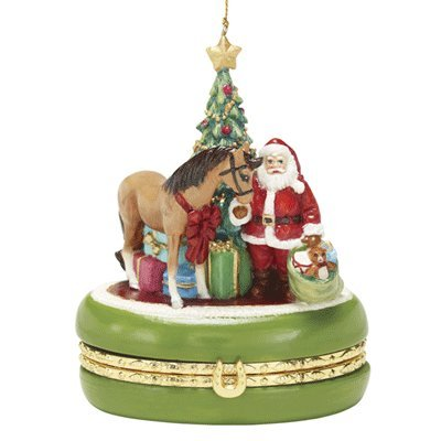 Golden Memories Treasure Box Ornament (4th in series) ()
