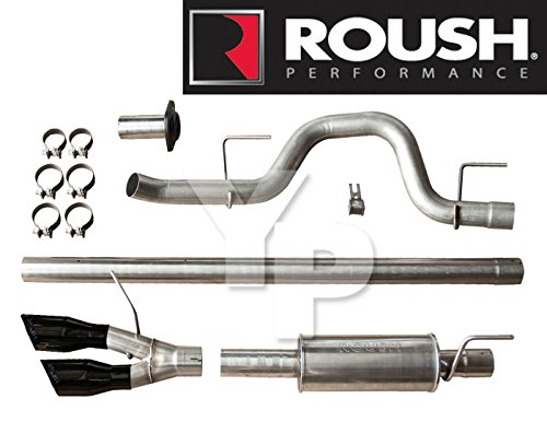 2010-2014 Roush Ford F-150 & SVT Raptor Catback Performance Side-Exit Exhaust Kit (Side Exit Exhaust Kit)