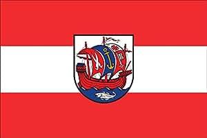 Flaggenfritze–Bandera de mesa (Bremerhaven
