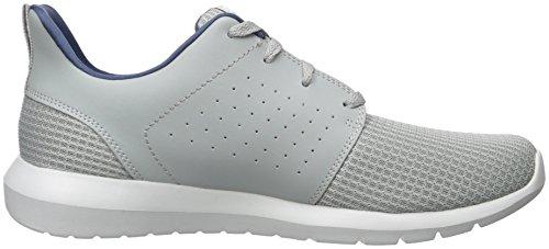 para Gray Gris de Hombre Entrenamiento Zapatillas Foreflex Skechers 0ZqvII