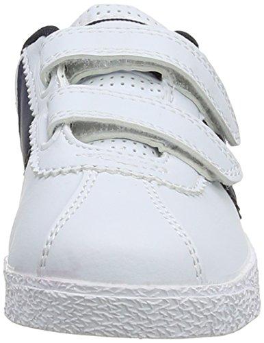 Amhurst Gola, e instrucciones para coser pijamas' Diseño de zapatos con texto al aire libre deportes, color blanco, talla 26,5 (infantil)