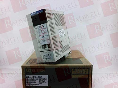 MITSUBISHI MR-J2S-40B SERVO Amplifier, 2.6A, 3PH, 200-230VAC, 50/60HZ