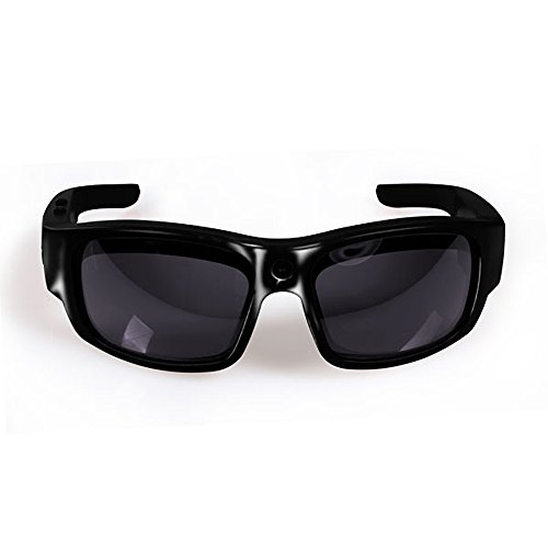 GoVision Pro 3 Ultra 1080p HD Camera Glasses Video Recording Sport Sunglasses with 16mp - Camcorder Video Sunglasses