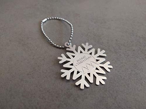Christmas tree ornament, Silver Christmas Ornament