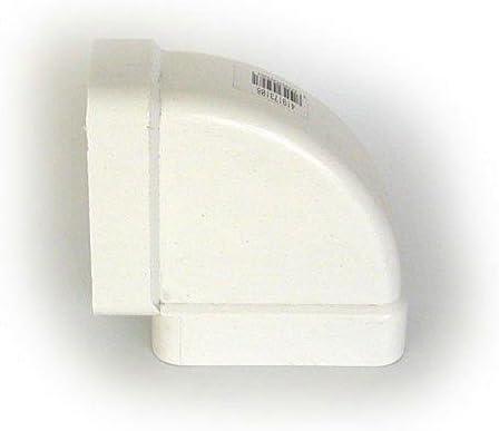 Vacuflex Vertical Polipropileno 110X56 Codo Rec