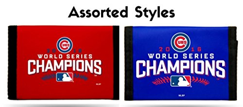 Chicago Cubs 2016 World Series Champions Nylon Wallet