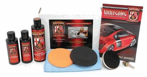 Wolfgang™ Plastic Headlight Lens Cleaning System 4333111098 WG-8700