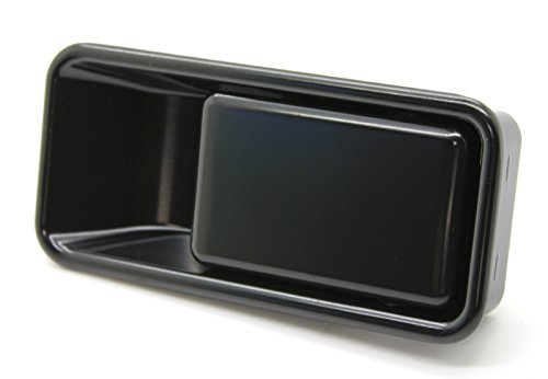 - LatchWell PRO-4001001-01 Passenger Side Exterior Half-Door Handle in Black for Jeep Wrangler TJ & YJ