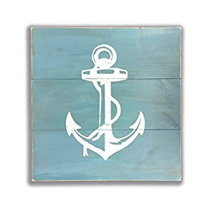 41j6Dpik4PL._SS300_ Nautical Wooden Signs & Nautical Wood Wall Decor