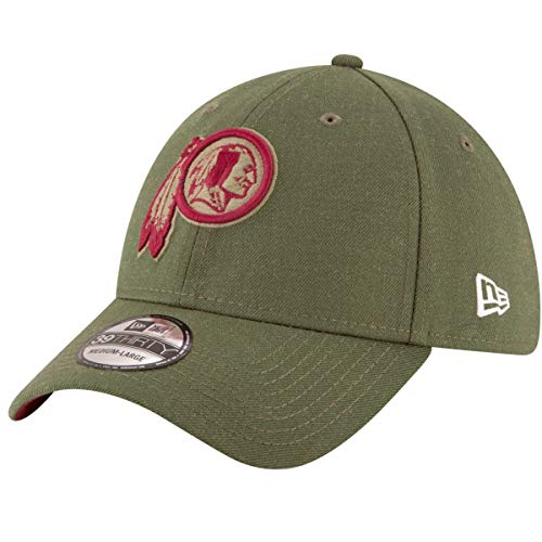 046dc35ecaca69 Washington Redskins Salute to Service. New Era Washington Redskins NFL  39THIRTY 2018 Sideline Salute to Service Hat