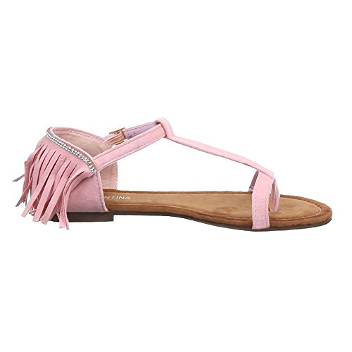 Comode Da Bassi sf pink Estate Reilom Sandali Donna B26l Scarpe vqnPg4