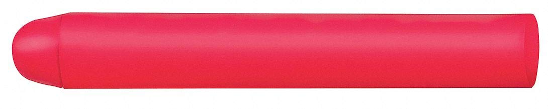 Lumber Crayon, Pinks Color Family, Bullet Tip Shape, 40°F Min. Temp, 12 PK by  (Image #1)