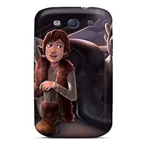 Durable Hard Phone Case For Samsung Galaxy S3 With Provide Private Custom Beautiful How To Train Your Dragon Pattern ChristopherWalsh