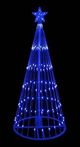 Led Spiral Christmas Tree Outdoors
