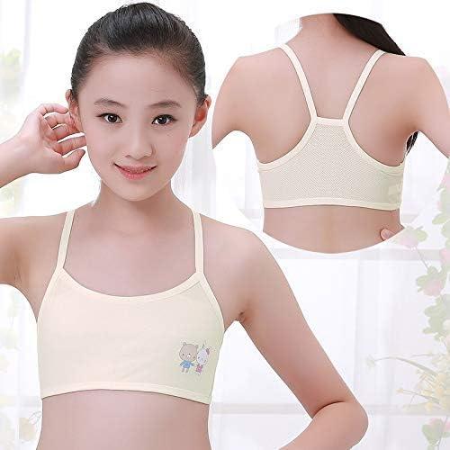 Detazhi Boy Girl Teen Underwear Training Bra Thin Underwire with Cup Pad  Child Cotton Underwear Vest Lace (Colour: White): Amazon.de: Küche &  Haushalt
