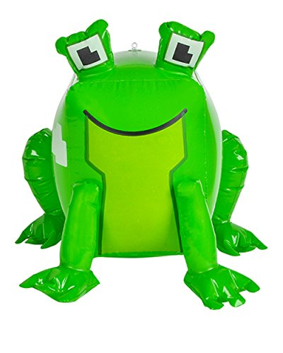 [Inflatable Pixel Animal Frog Beach Swimming Pool Party Favor Toy] (Blockbusters Costumes)