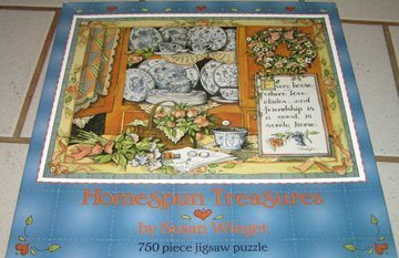 Homespun Treasures Susan Winget Puzzle Ceaco by Ceaco