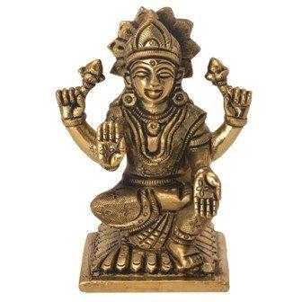 Brass Statue Of Goddess Lakshmi Handicrafts Product By