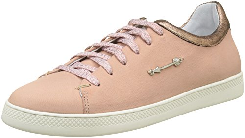Schmoove Damen Sally Sneaker Nubuck Rosa (rosa)