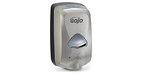 Gojo TFX Touch-Free Hand Soap Dispenser 1200mL Nickel 278912 NEW