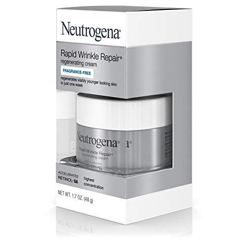 41j6IAiFg3L - Neutrogena Rapid Wrinkle Repair Hyaluronic Acid Retinol Cream, Anti Wrinkle Cream, Face Moisturizer, Neck Cream & Dark Spot Remover for Face - Day & Night Cream with Hyaluronic Acid & Retinol, 1.7 oz