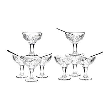 Dublin 16 Piece Taster Coupe Glass Set