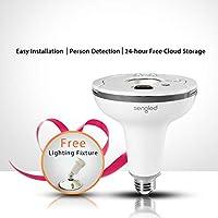 Sengled Snap G2 LED Flood Light with Security Camera (White)
