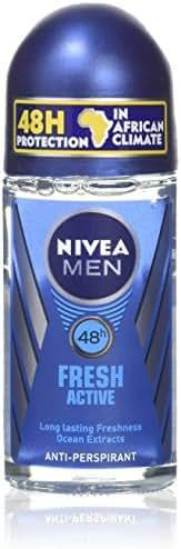Nivea Fresh Active For Men By Nivea Roll-On Anti-Perspirant 50ml