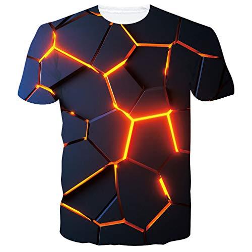 Spreadhoodie Unisex T Shirts 3D Drucken Kurzarm Sommer Beiläufige Herren T-Shirt Tops Tees S-2XL