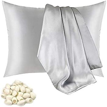 Amazon Com Jarolx 100 Mulberry Silk Pillowcase For Hair