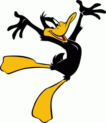 Image Daffy Duck - Daffy Duck Cartoon Car Bumper Sticker Decal 4