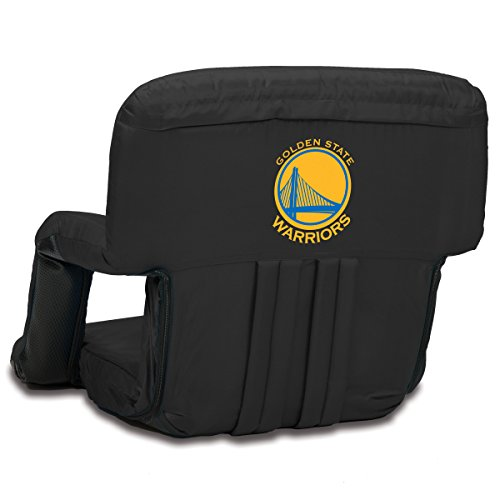 PICNIC TIME NBA Golden State Warriors Ventura Portable Reclining Seat by PICNIC TIME