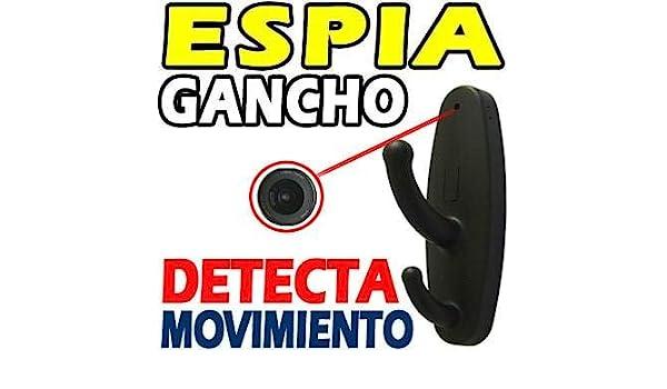 Electrolandia® Perchero Camara Espia HD: Amazon.es ...